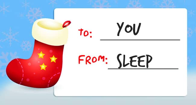 Give the Gift of Better Sleep This Holiday