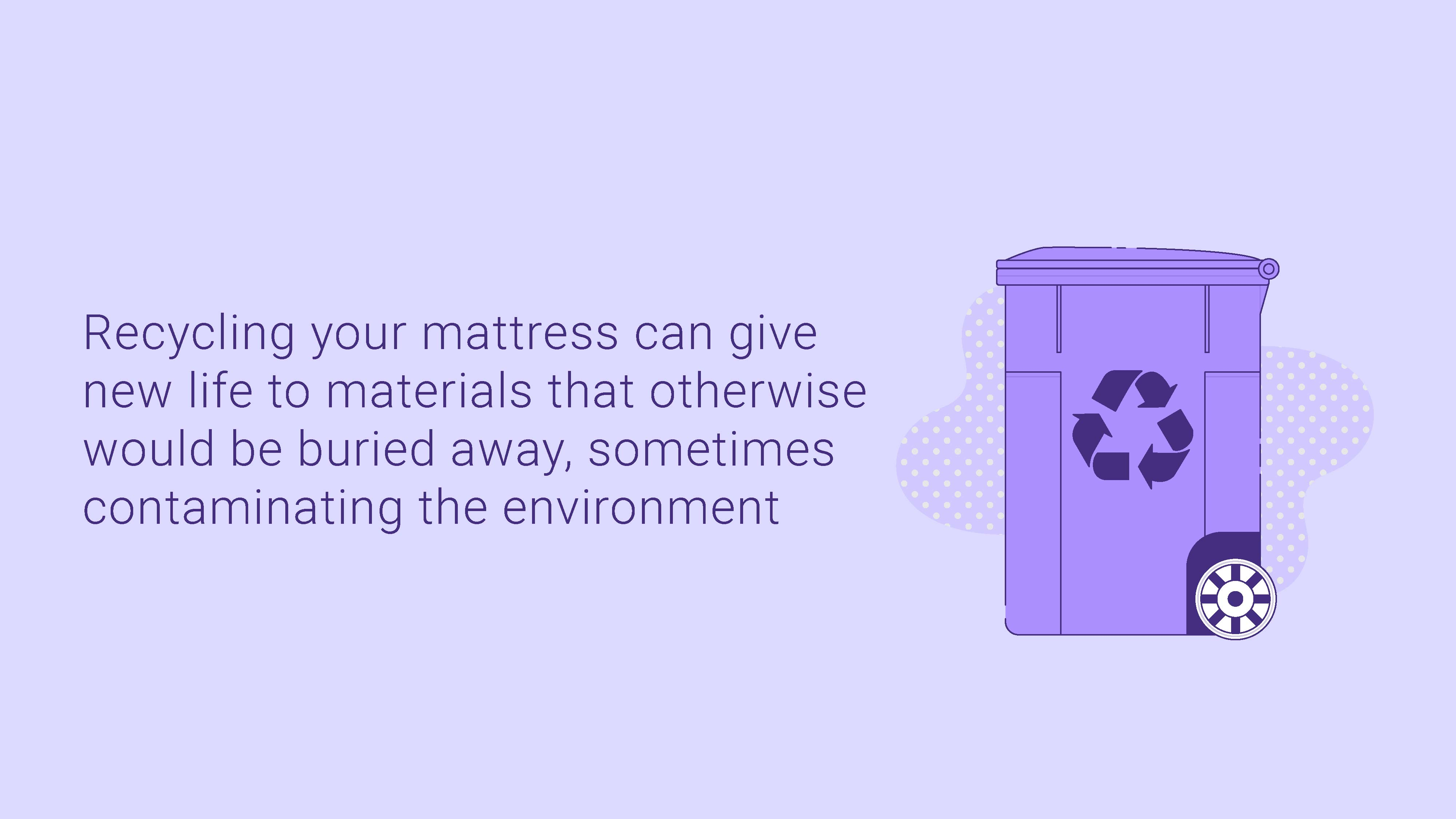 Why And How To Recycle Your Mattress Sleep Junkie