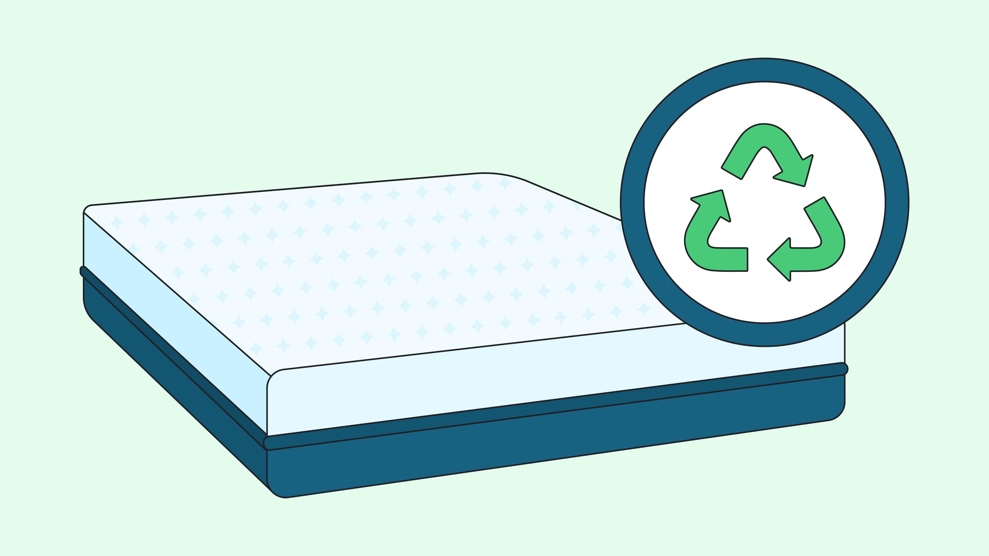 recycling a mattress