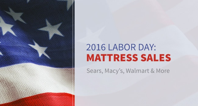 Find the Best Labor Day Mattress Sale from Sears, Macys & More