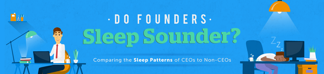 Do Founders Sleep Better?