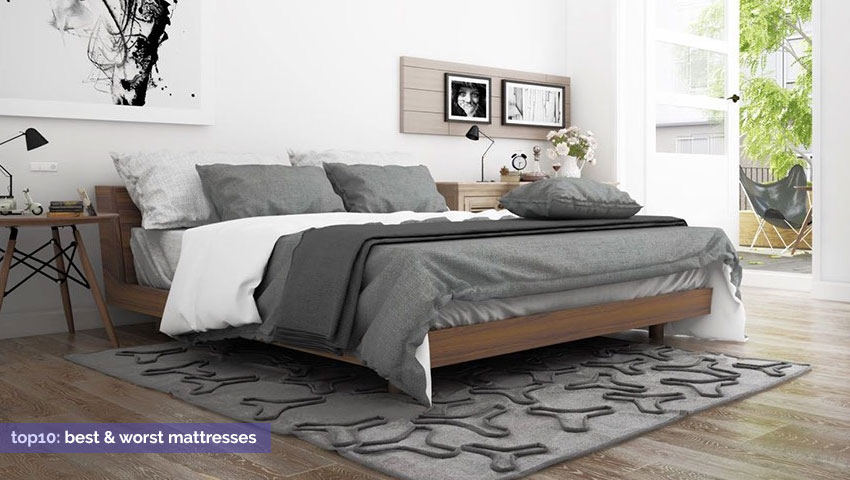 Best mattress reviews 2018 the top 10 and worst 10 beds for Best time for mattress sales