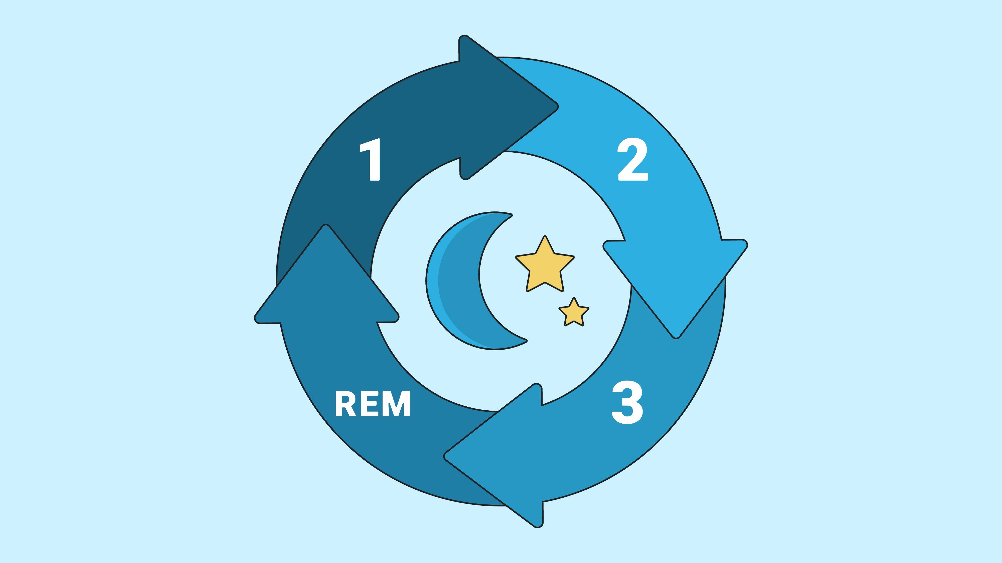 Stages of Sleep: NREM & REM Sleep Cycle