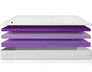 original purple mattress layers