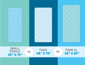 small single and twin and twin xl mattress