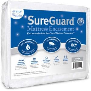 sureguard mattress protector bed bug mattress protector