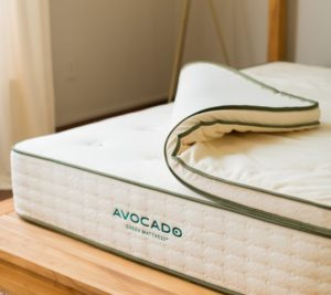 avocado green best hybrid mattress for stomach sleepers