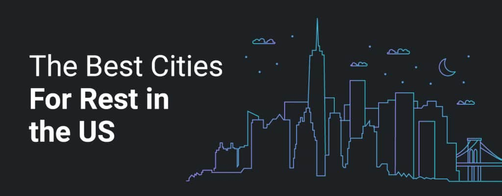 The best cities for sleep
