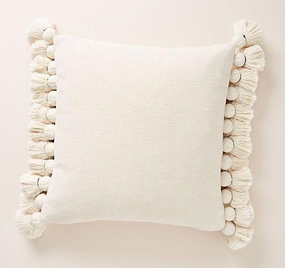 chenille nadia pillow