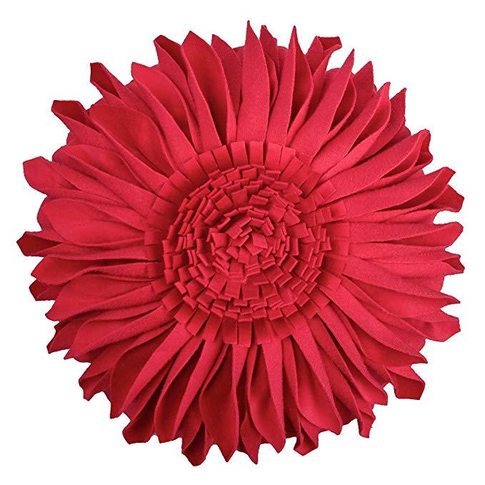 sunflower accent pillow
