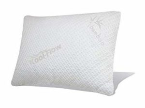 Snuggle-Pedic Ultra Luxury Bamboo Shredded Memory Foam Pillow