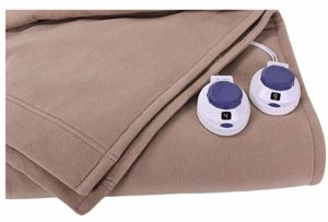 Soft Heat by Perfect Fit Luxury Fleece Electric Heated Blanket