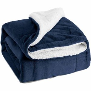 bedsure sherpa fleece throw