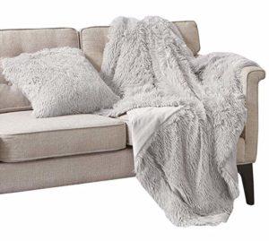 comfort spaces shaggy long faux fur combo