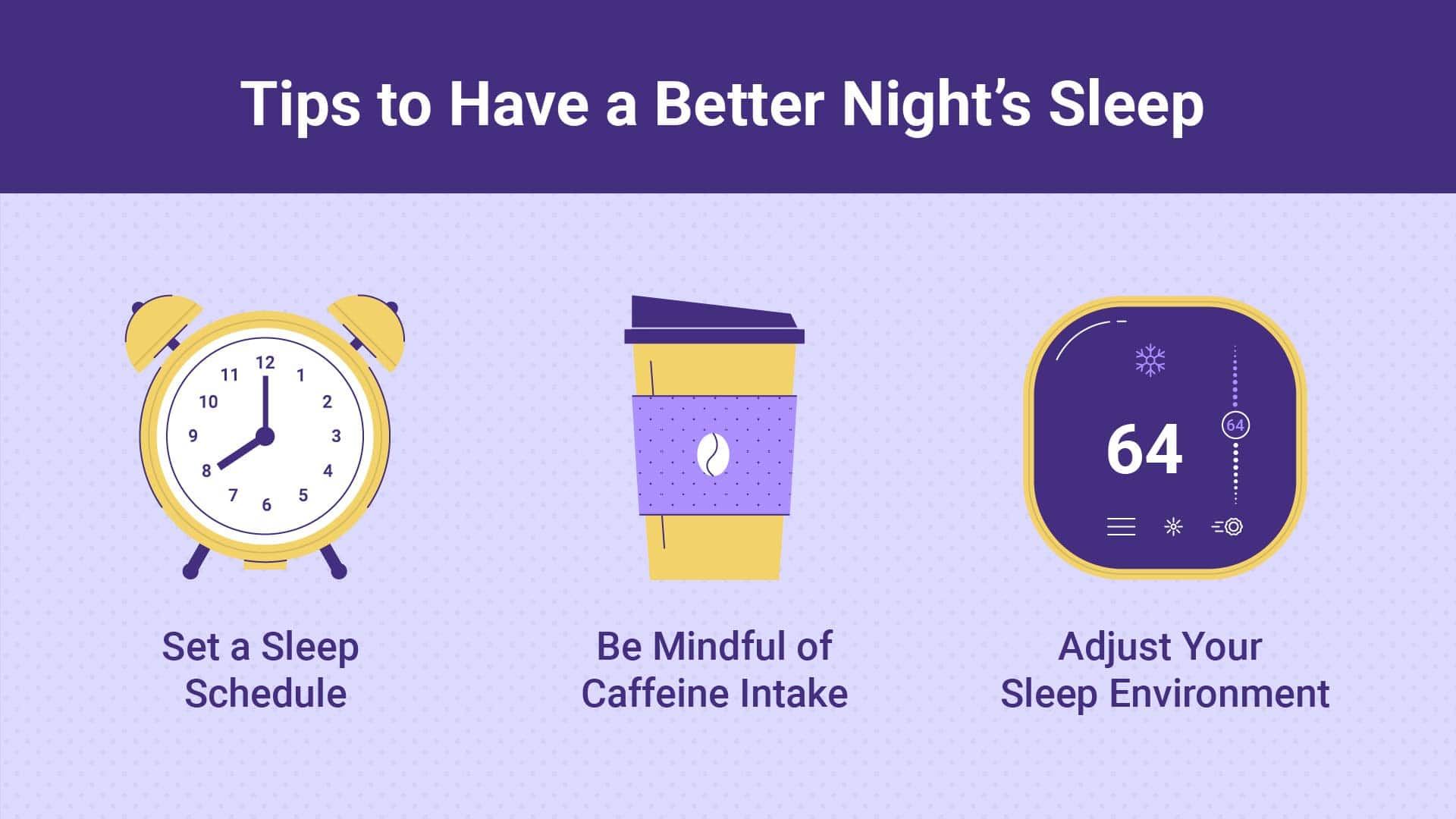 Tips to have a Better Night's Sleep