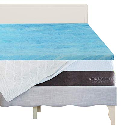 advanced sleep gel mattress topper