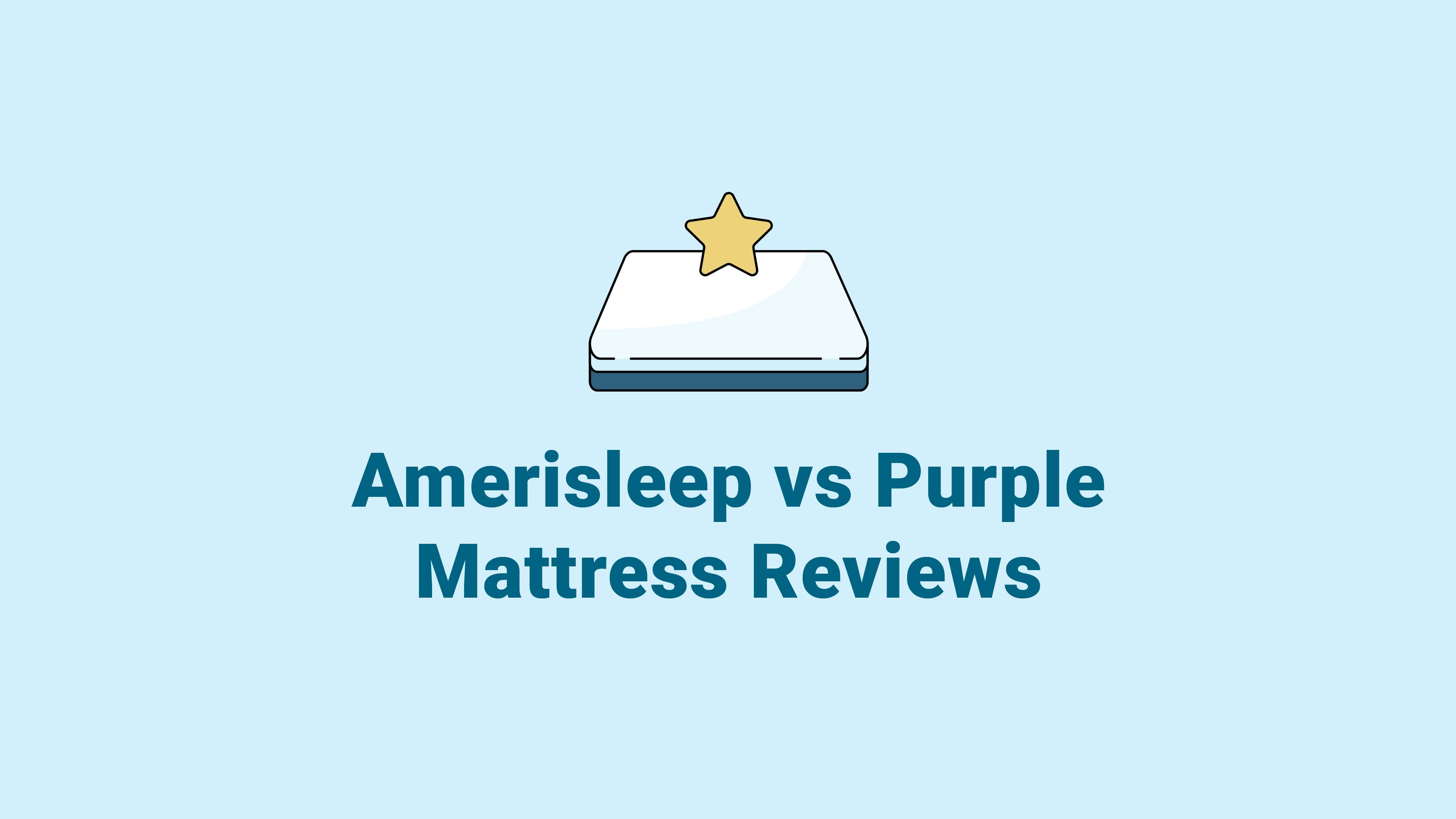 Amerisleep vs. Purple Mattress Reviews