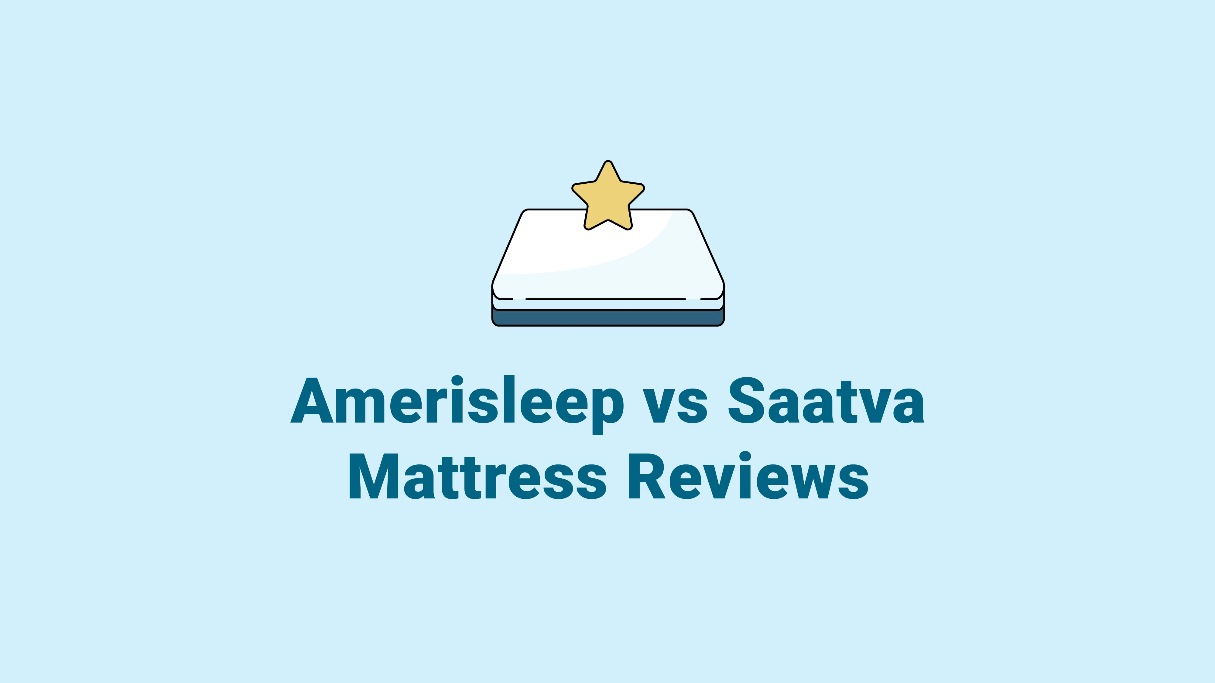 Amerisleep vs. Saatva Mattress Reviews