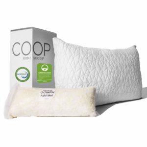 coop home goods shredded memory foam