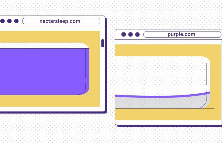 Nectar vs. Purple® Mattress Reviews