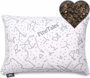 PineTales Organic Buckwheat Pillow