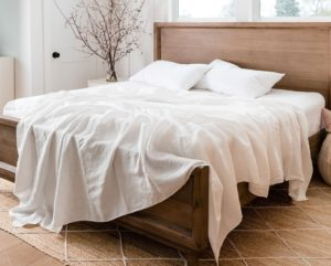 rough linen sheets