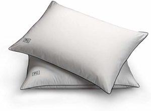 Pillow Guy Soft Stomach Sleeper Down Alternative Pillow