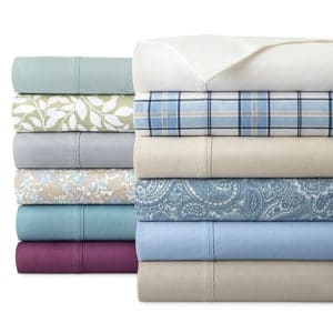 JCPenny Easy Care Sheet Set