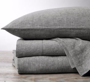 Coyuchi Organic Linen Chambray Sheet Set