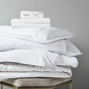 West Elm Organic Washed Cotton Percale Sheet Set