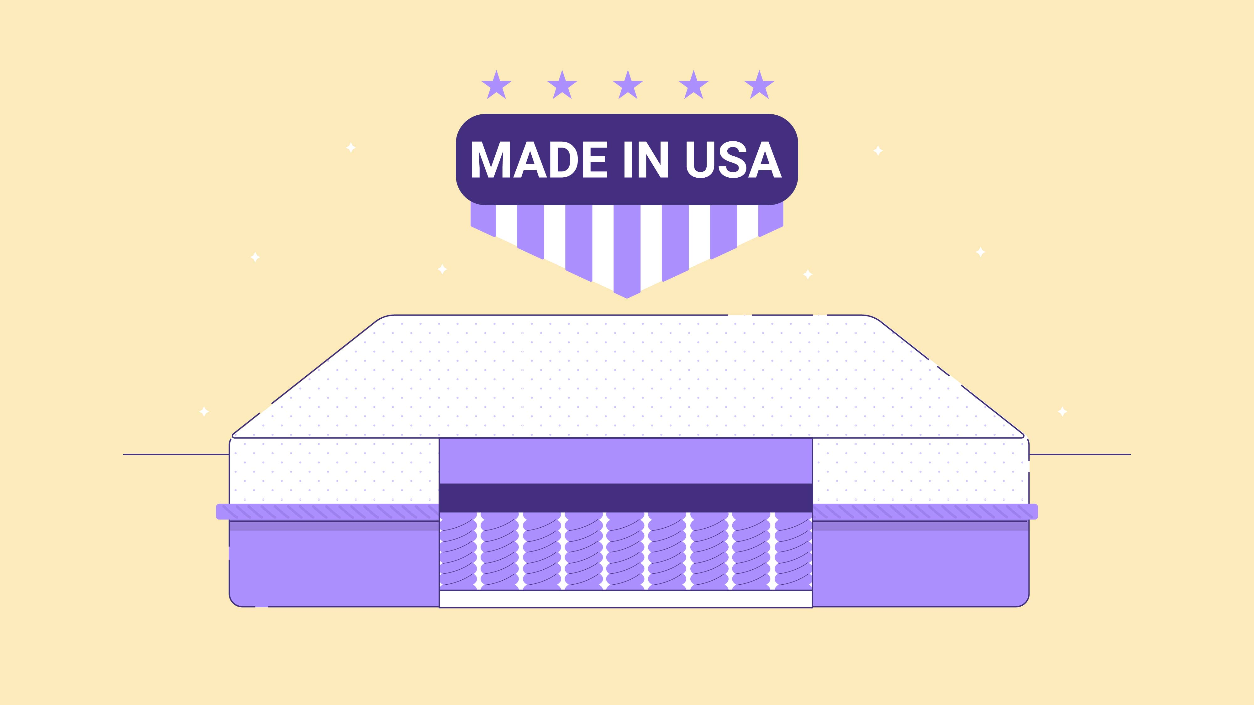 Best Hybrid Mattress Made in the USA (2021): Reviews and Buyer's Guide
