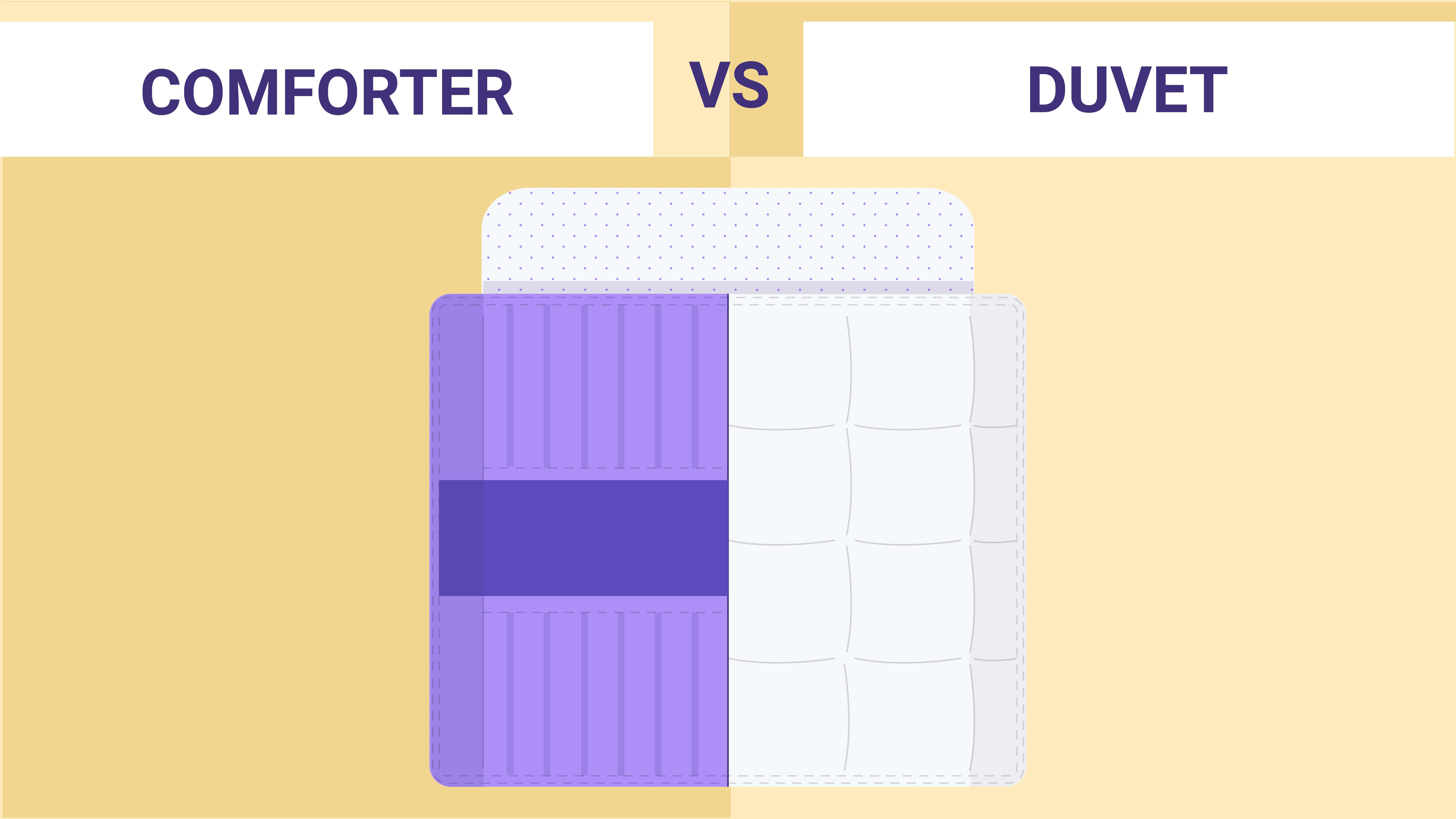 Duvet vs. Comforters