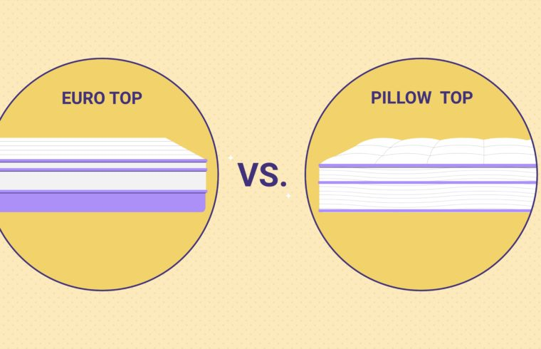 The Difference Between Euro Top and Pillow Top Mattresses