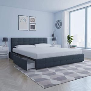 DHP Rose Bed Frame with Storage