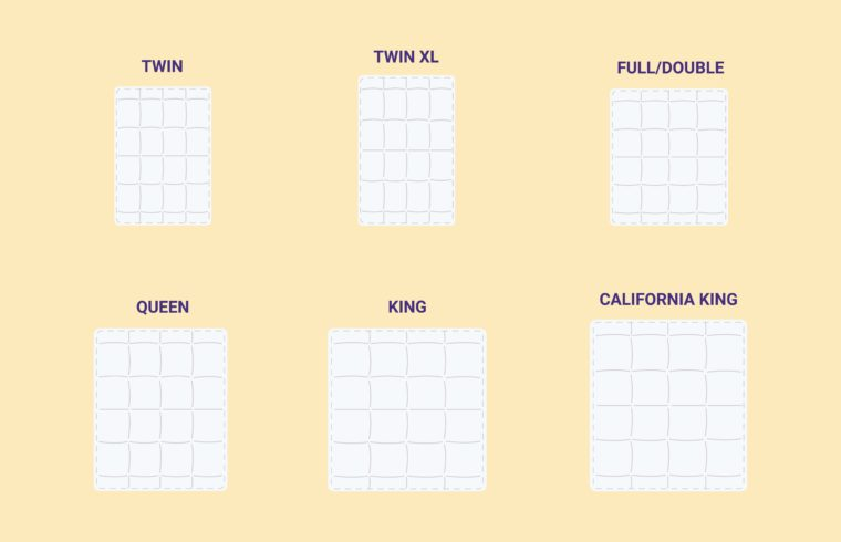 Duvet Sizes and Dimensions Guide