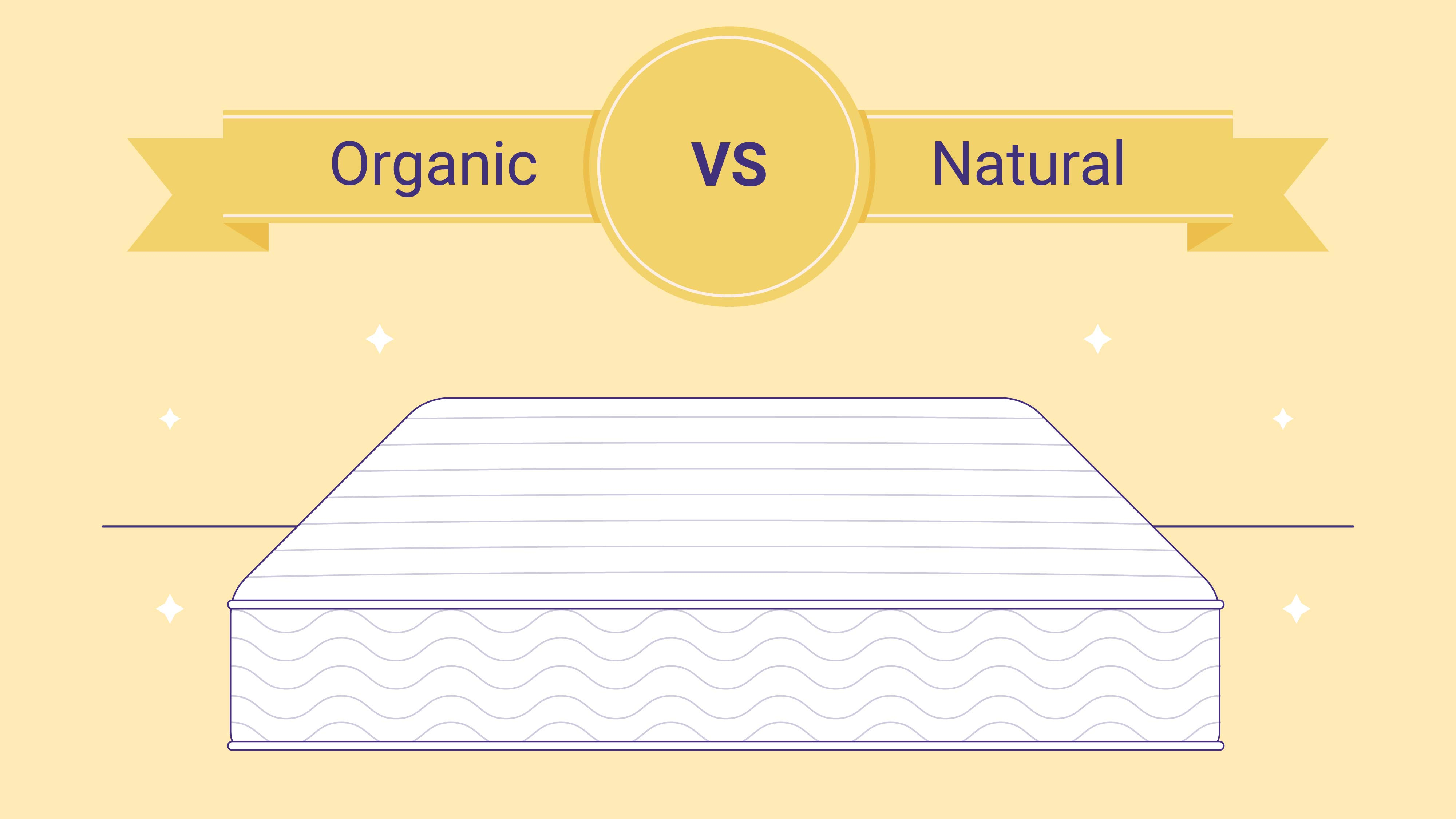 Organic vs. Natural Mattress: What's the Difference?