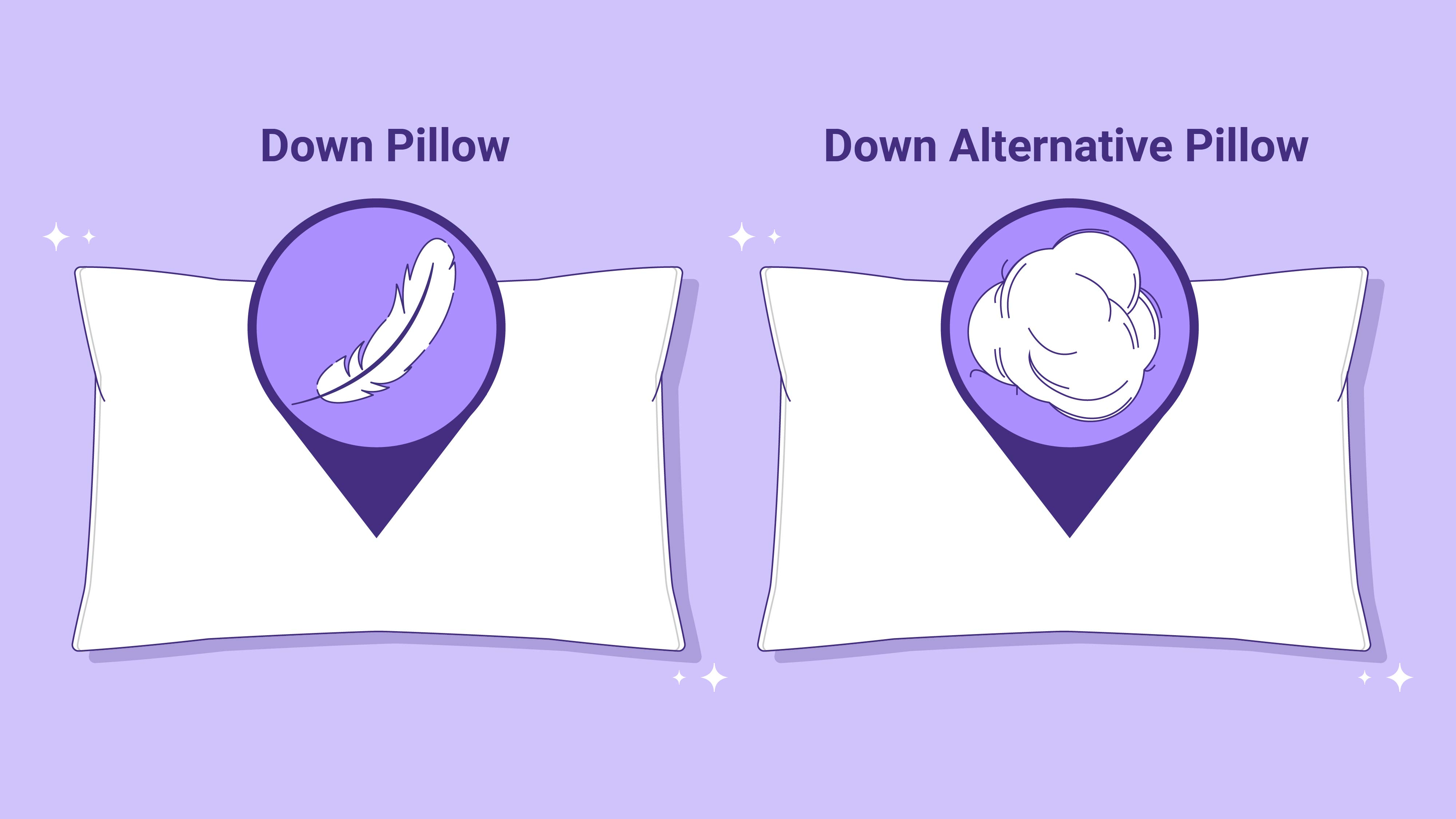 Down vs. Down Alternative Pillow: Which is Best?